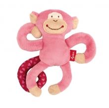 Sigikid 42168 clip monkey pink