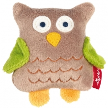 Sigikid 42213 rattle owl Red Stars