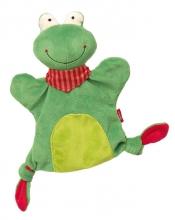 Sigikid 41986 hand puppet-comforter frog