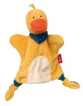 Sigikid 41989 Handpuppe-Schnuffeltuch Ente