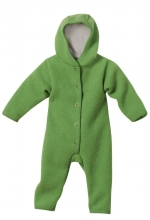Disana boiled wool overall 62/68 green