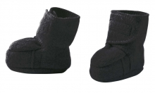 Disana boiled wool booties size 2 anthracite
