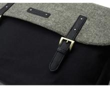 Storksak changing bag Ashley Felt Black/ Grey