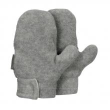 Sterntaler winter mittens size 3 silver melange