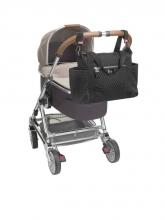 Babymel changing bag Cara Ultra Light Black Scuba