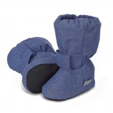 Sterntaler 5101810 Babyschuh 17/18 tintenblau melange