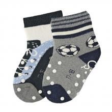 Sterntaler ABS crawling socks football/trainer