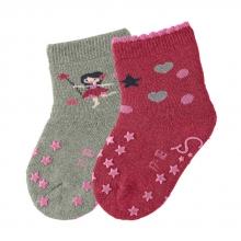 Sterntaler ABS crawling socks fairy/stars