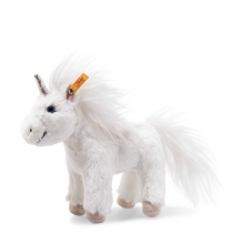 Steiff 087776 Unicorn 18 white
