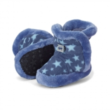 Sterntaler 5101825 baby-bootees stars with cord-stopper 19/20 blue