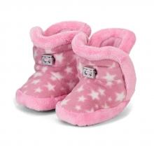 Sterntaler 5101825 Babyschuh Sterne mit Kordelstopper 21/22 perlrosa