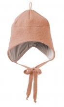 Disana boiled wool hat size 1 rose
