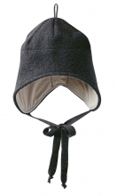 Disana boiled wool hat size 1 anthracite