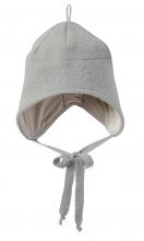 Disana boiled wool hat size 2 grey