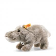 Steiff 077128 Sammi hippopotamus 24 grey