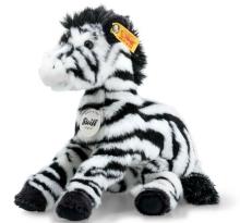 Steiff 068881 Zippy dangling zebra 22 white/black