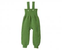 Disana Strick-Trägerhose 50/56 grün