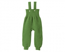Disana Strick-Trägerhose 86/92 grün