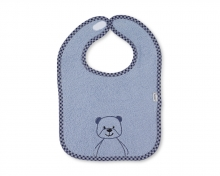 Sterntaler bib with velcro Baylee blue