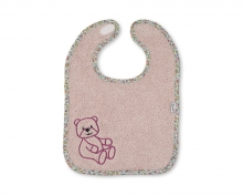 Sterntaler bib with velcro Baylee rose