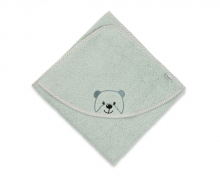 Sterntaler hooded bath towel Baylee green 100x100