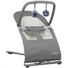 BabyGo bouncing chair Fancy grey