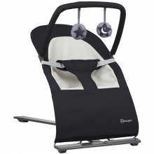 BabyGo bouncing chair Fancy black