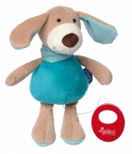 Sigikid 41855 Muscial toy Dog turquoise Blue Collection