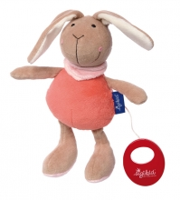 Sigikid 41860 Muscial toy Bunny Blue Collection