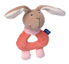 Sigikid 41861 Graspy Toy Bunny salmon Blue Collection