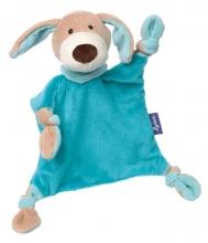 Sigikid 41854 Schnuffeltuch Hund türkis Blue Kollektion