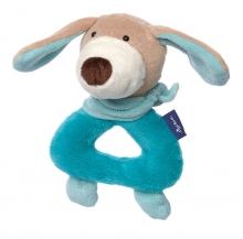Sigikid 41856 Greifling Hund türkis Blue Collection