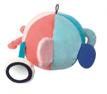 Sigikid 41870 Ball türkis-lachs Blue Collection