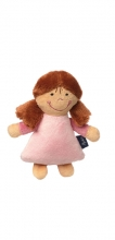 Sigikid 42230 Rattle Doll Blue Collection
