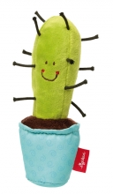Sigikid 41436 Kaktus mit Quietsche Red Stars