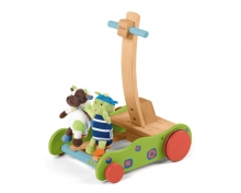 Sterntaler Baby Walker Grasshopper and Cow