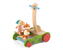 Sterntaler Baby Walker Fox and Bunny