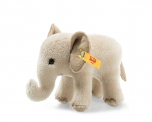 Steiff 026935 Wildlife Giftbox Elephant Mohair grey