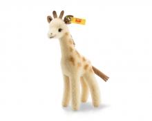 Steiff 026942 Wildlife Giftbox Giraffe Mohair brown