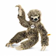 Steiff 056284 Eric Dangling Sloth 45cm brown