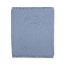 Sterntaler Knitted Cuddly Blanket Baylee blue