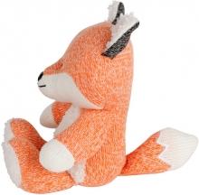 Flow Stofftier mit Musikbox Robin der Fuchs orange