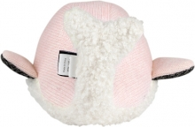Flow Cuddly Toy with Music Box Moby the Whale Pink