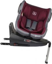 BabyGo Kinderautositz Iso360 rot 0-18kg (Gruppe 0/1)