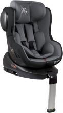 BabyGo Child Seat Iso360 grey 0-18kg (Group 0/1)