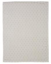 Alvi 931849448 Microfaser Baby Decke Raute taupe 75x100