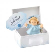Sterntaler Spielzeug zum Aufhängen Schutzengel blau