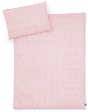 Zöllner Jersey Bedding Tiny Squares Blush 100x135 cm