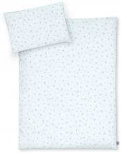 Zöllner Jersey Bettwäsche Frosty Stars 100x135