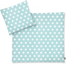 Zöllner Bedding Stars mint green 80x80cm